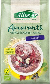 Allos Amaranth Frühstücksbrei Aronia 400g