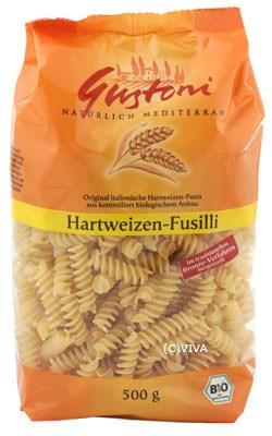 Gustoni Hartweizen-Fusili/ Spirelli bronze 500g