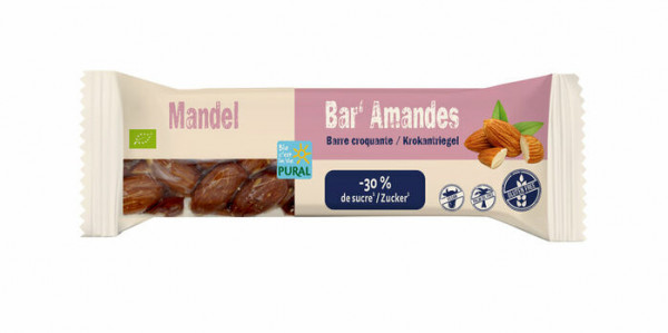 Pural Mandel-Riegel 35g