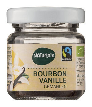 Naturata Bourbon-Vanille gemahlen 10g