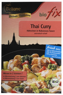 Beltane Biofix Thai Curry 20,4g