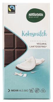 Naturata Kuvertüre Kokosmilch vegan & lactosefrei 100g