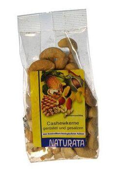 Naturata Cashewkerne, geröstet und gesalzen 100g
