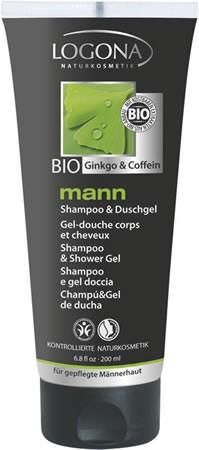 LOGONA mann Shampoo und Duschgel 200ml