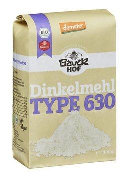 Bauckhof Dinkelmehl hell Type 630 demeter 1kg