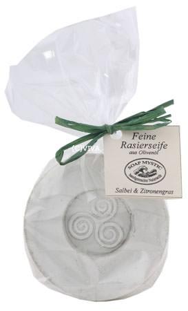 Soap Mystic Rasierseife Salbei und Zitronengras 70g