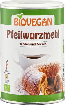 Biovegan Pfeilwurzmehl BIO BindeFIX Backen 200g