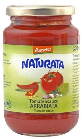Naturata Tomatensauce Arrabiata, demeter 370ml