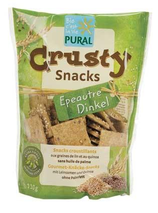 Pural Crusty Snacks Dinkel 110g