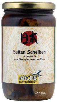 Arche Seitan-Scheiben in Sojasoße 330g