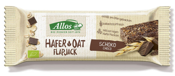 Allos Hafer Flapjack Schoko 50g