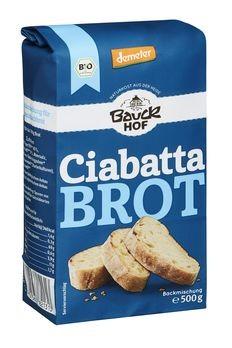 Bauckhof Ciabatta Brot Backmischung demeter 500g