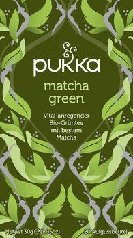 Pukka Matcha Green Tee 20Btl