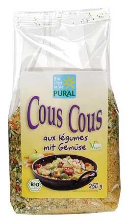 Pural CousCous Gemüse 250g