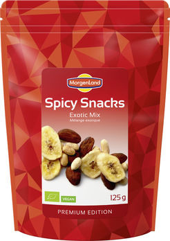 MorgenLand Spicy Snacks Exotic Mix 125g