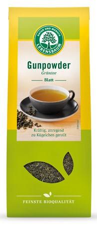 Lebensbaum Grüntee Gunpowder Blatt 100g