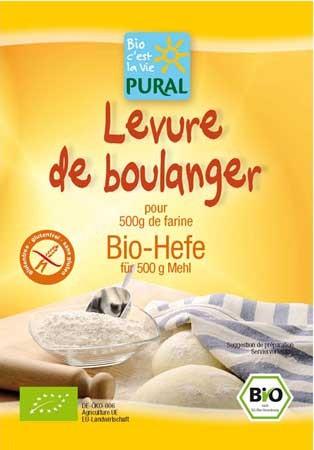 Pural Hefe glutenfrei 9g