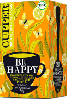 CUPPER Be Happy Tee 40g 20 Beutel
