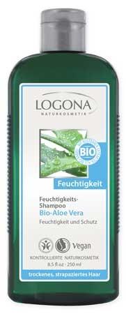LOGONA Feuchtigkeits-Shampoo Bio-Aloe Vera 250ml