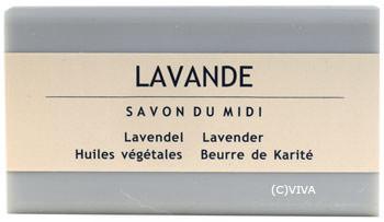 Savon Du Midi Karité-Pflanzenölseife Lavendel 100g/A