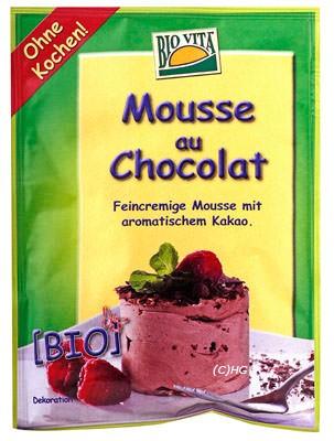 BioVita Mousse au Chocolat 77g