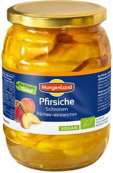 MorgenLand Pfirsiche, Schnitten 685g