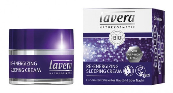 Lavera Re-Energizing Sleeping Cream 5in1 Overnight Effect 50ml