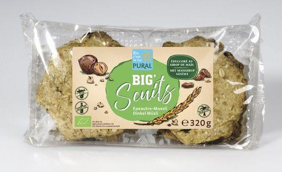 Pural Big Scuits Dinkel-Müsli 320g