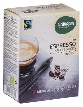 Naturata Espresso Sticks, Bohnen-Kaffee Instant 25x2g
