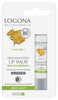 LOGONA reichhaltiger Lip Balm Bio-Calendula 4.5g