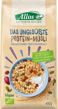 Allos Das ungesüßte Protein-Müsli 450g