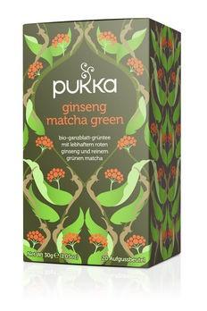 Pukka Ginseng Matcha Green 20Btl