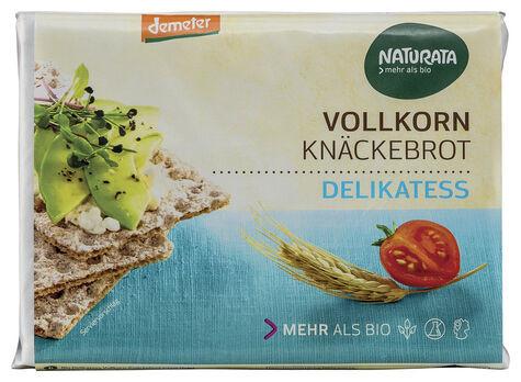 Naturata Delikatess-Vollkorn-Knäckebrot, demeter 250g
