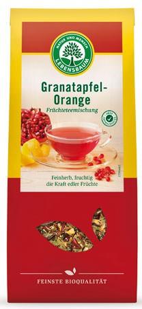 Lebensbaum Granatapfel-Orangentee Früchtetee-Mischung 75g