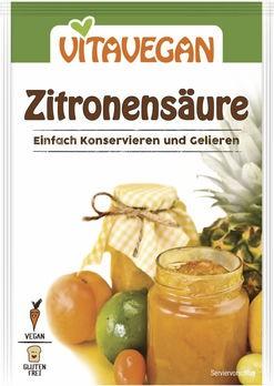 Biovegan Zitronensäure konventionell 10g