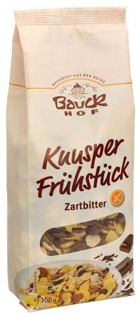 Bauckhof Knusper Frühstück Zartbitter, glutenfrei 300g
