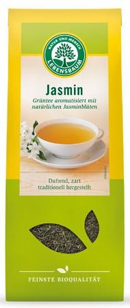 Lebensbaum Grüntee Jasmin Blatt 75g