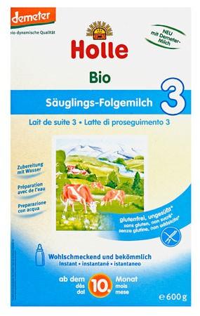 Holle Folgemilch 3, Säuglingsnahrung demeter 2x300g