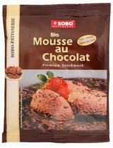 Sobo Mousse au Chocolat Patisserie 75g