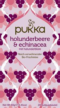 Pukka Holunderbeere & Echinacea Tee 20Btl