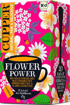 CUPPER Teemoment Flower Power Infusion 35g 20 Beutel