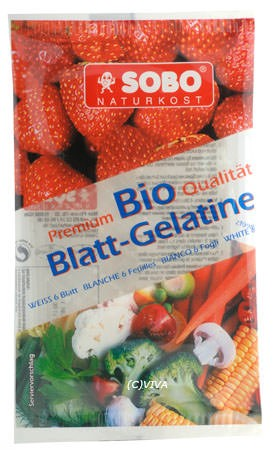 Sobo Bio Blattgelatine 10g