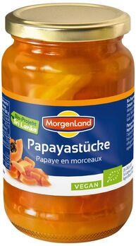 MorgenLand Papayastücke 350g