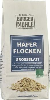 Burgermühle Haferflocken Großblatt 500g