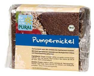Pural Pumpernickel 375g