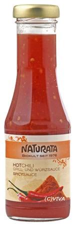 Naturata Hot-Chili Grill- und Würzsauce 250ml/A