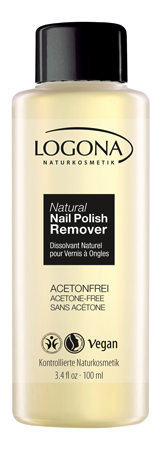 LOGONA Natural Nails Polish Remover 100ml