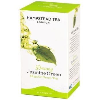 Hampstead Tea Grüntee Jasmin demeter 20Btl