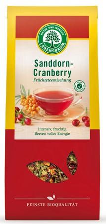 Lebensbaum Sanddorn-Cranberry Früchtetee 20 Beutel