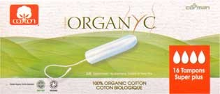 Organyc Tampons Super Plus 16 Stück